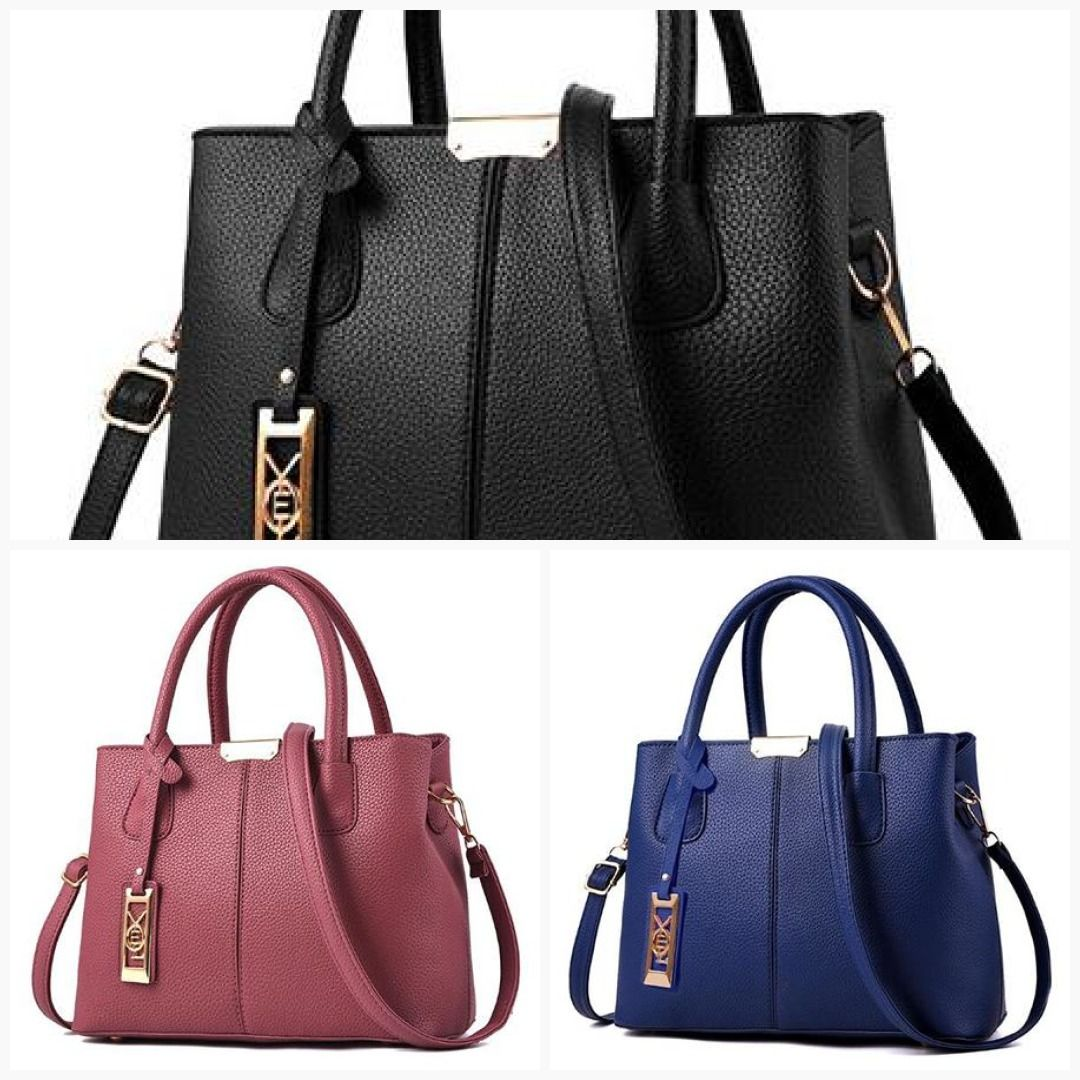 New Arrival PU Leather Handbags Casual Women Shoulder Bag Designers Ladies  Hand Bags Simple Style Crossbody Messenger Bags  fashionable  whatiwore ... 55994ddc79