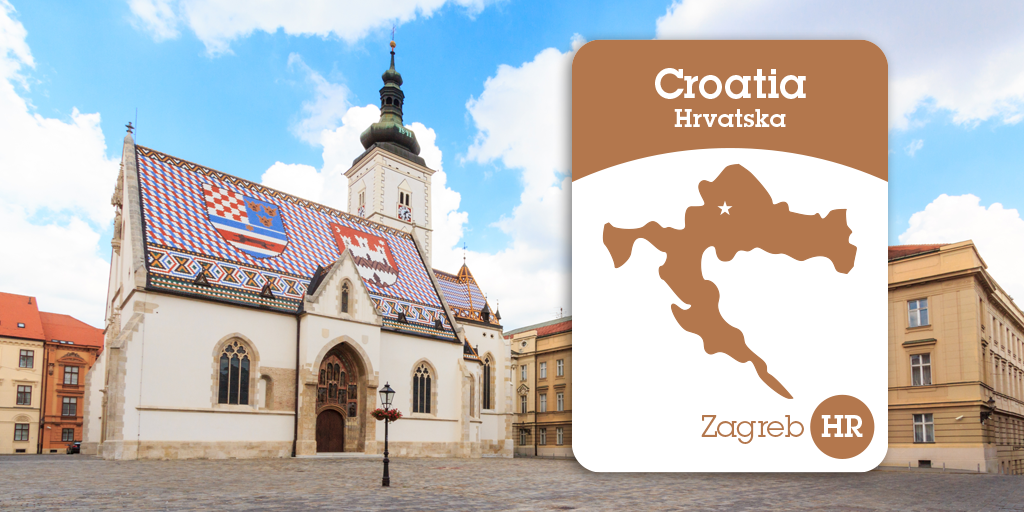 Located On St Mark S Square The Church Of St Mark Is One Of The Oldest 13th Century Most Emblematic Buildings In Zagreb Croatia Europe Zagreb Croatia