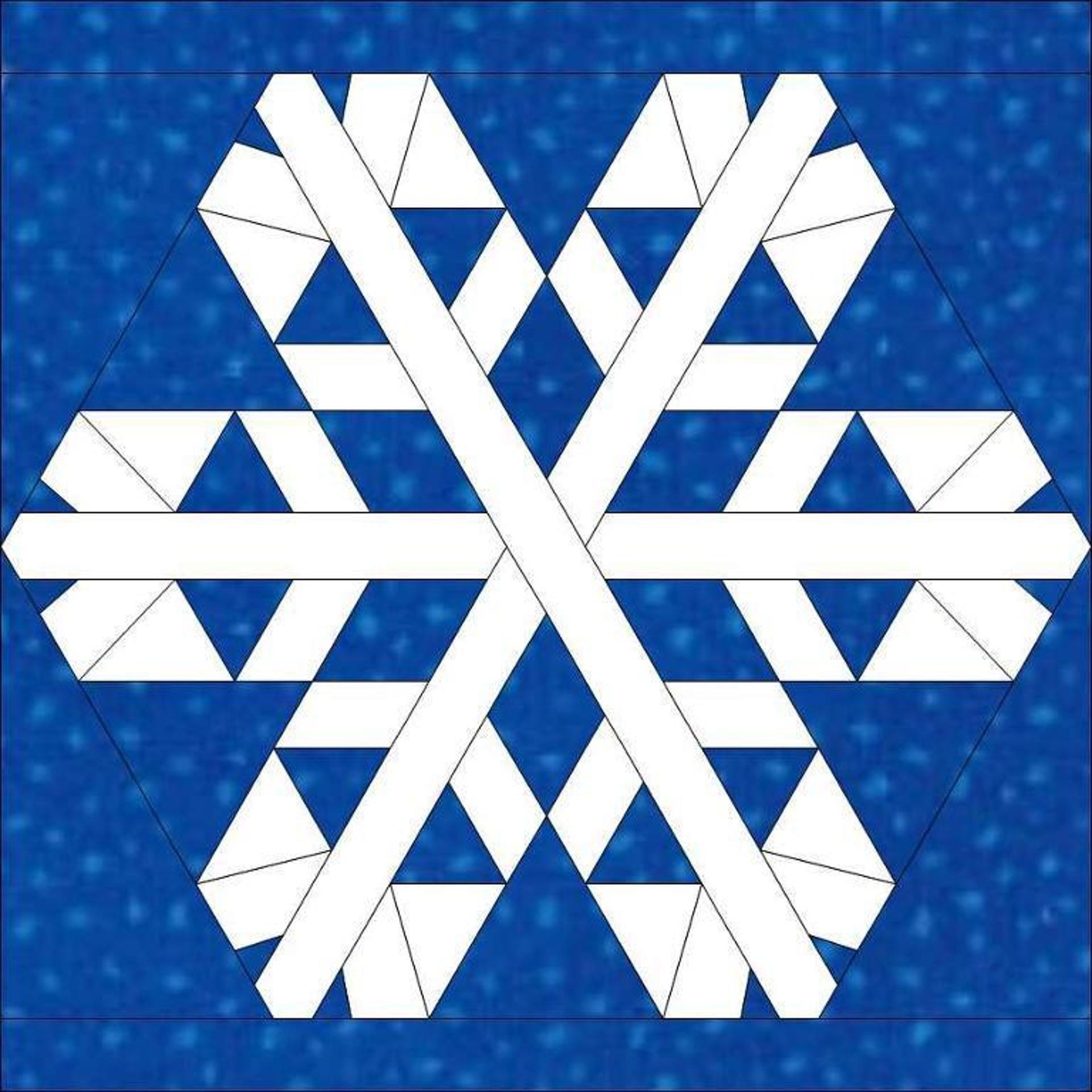 Snowflake 7 SNOW QUILTS Pinterest