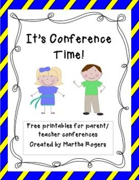 It's Conference Time!This is a free download with some of my favorite tools I use for parent/teacher conferences in my classroom.Included in this download, you will find:-A letter designed to go home a week or so prior to conferences, asking parents to inform you of any questions or concerns they may have regarding their child.