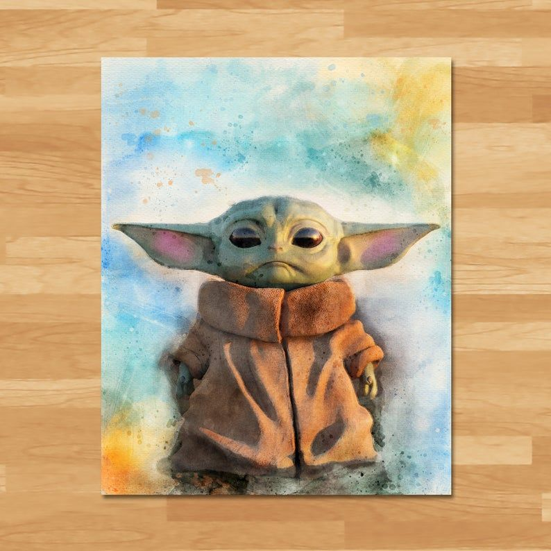 Star Wars Watercolor Star Wars Painting Star Wars Drawings Star Wars Art