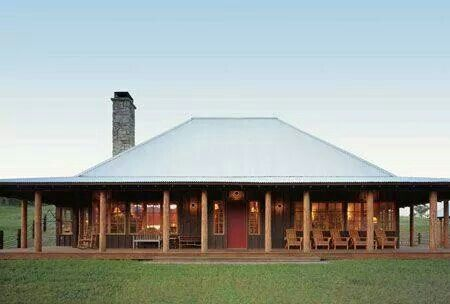 Yes A Full Wrap Around Porch A Side For All Seasons Barn House Plans Metal Building Homes Ranch House