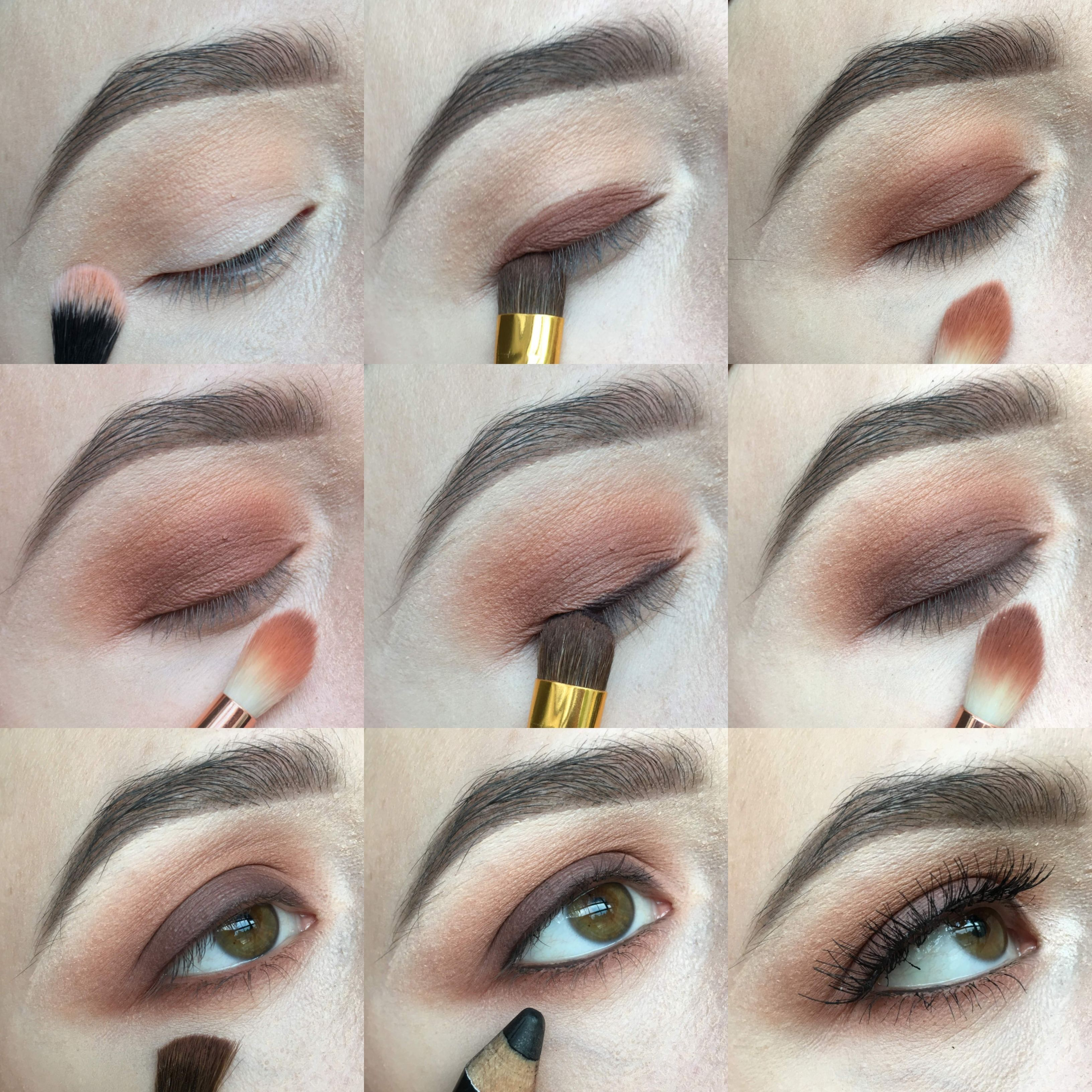 This is an EASY step by step eyeshadow tutorial using only ...