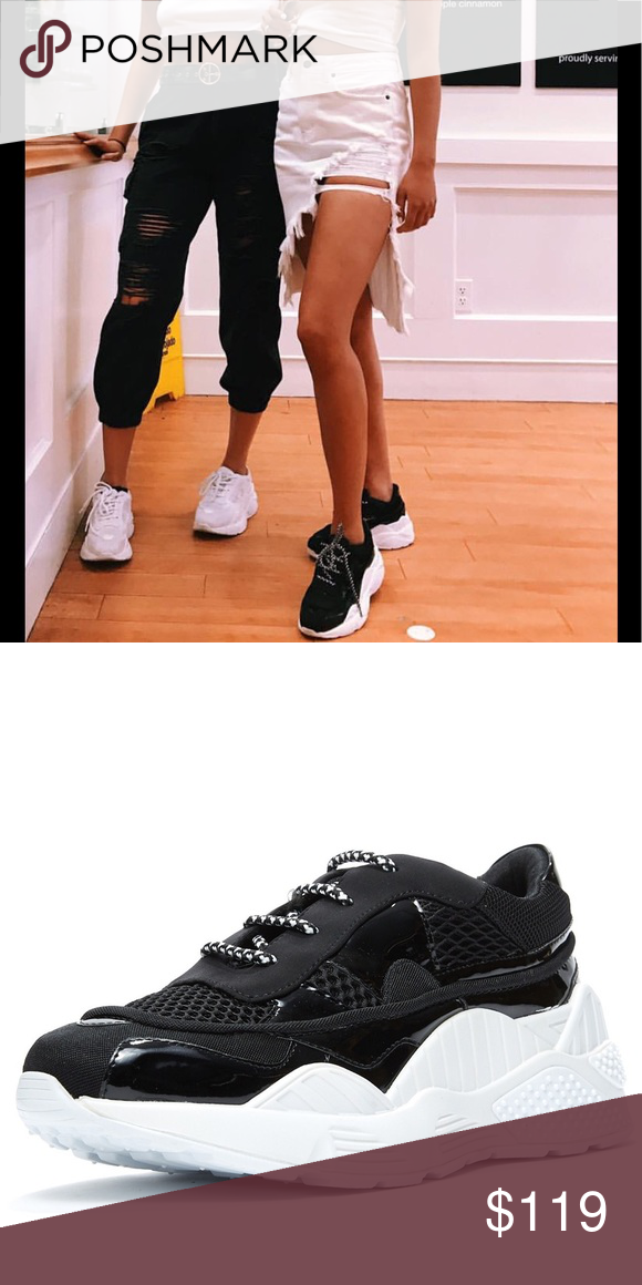 Jeffrey Campbell Black hdmi Lace Up sneaker Brand new without box Jeffrey  Campbell Shoes Sneakers 181a9ca78