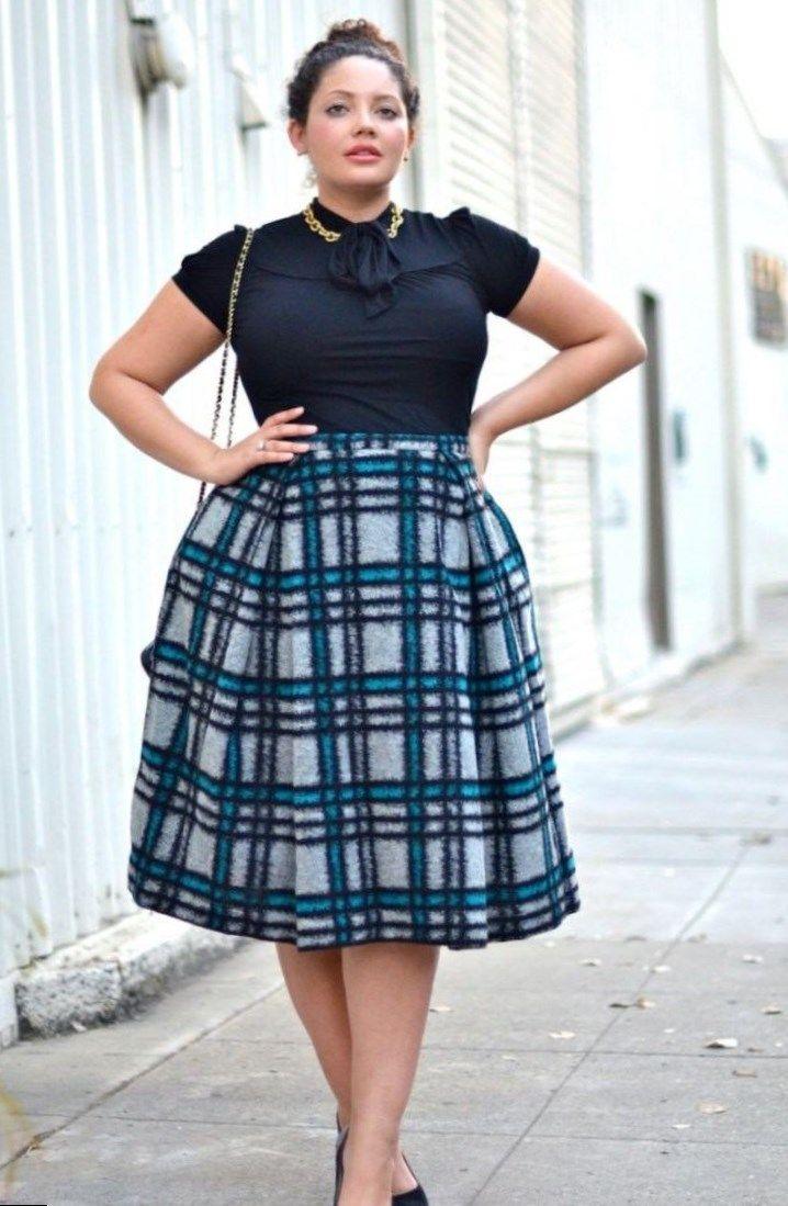 2c0103dd0897 Plus size fashion skirts - https   letsplus.eu skirt-fashion