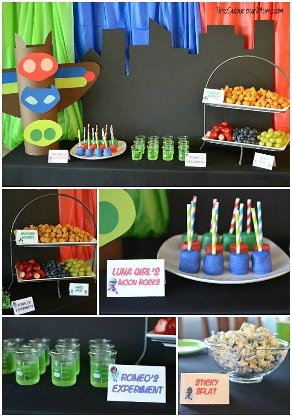 PJ Masks Birthday Party Ideas And Free Printables - The ...