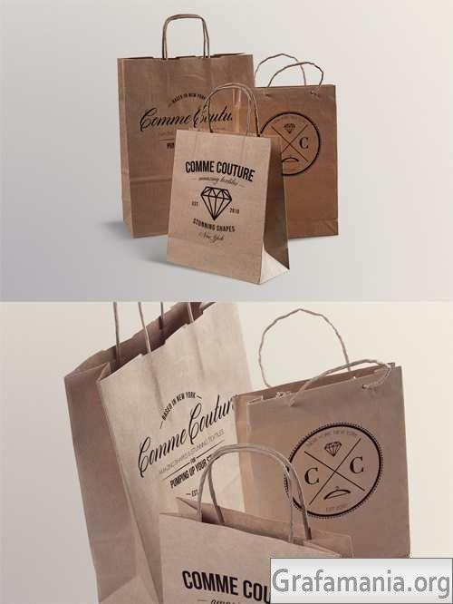 Download 15 Best Free Shopping Bag Mockup Psd Templates Designsave Com Embalagens Mockup