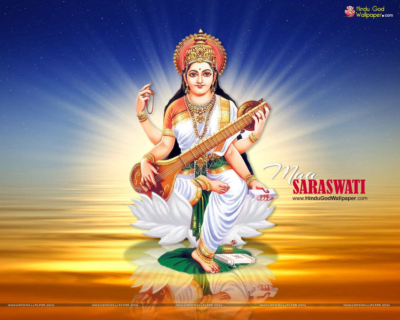 Beautiful Saraswati Wallpapers Photos Free Download With Images