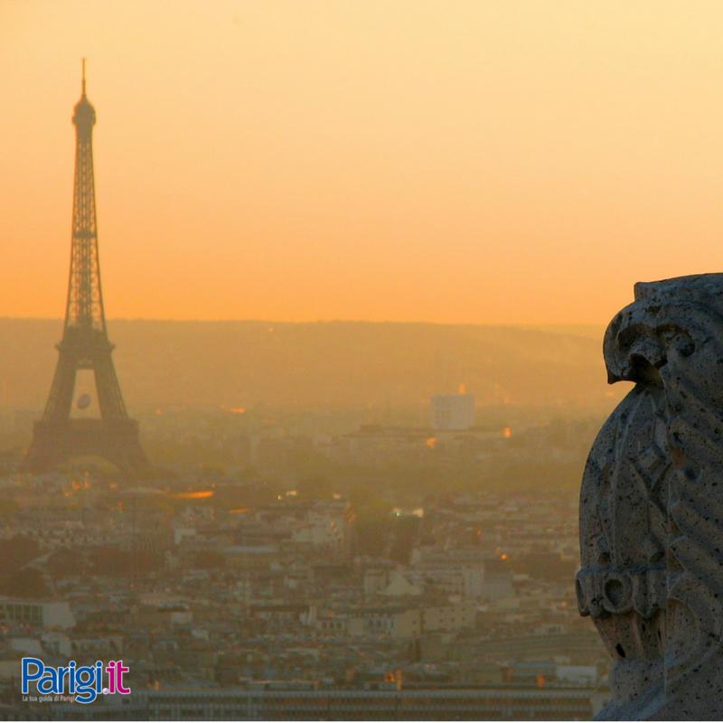 Parigi al tramonto!