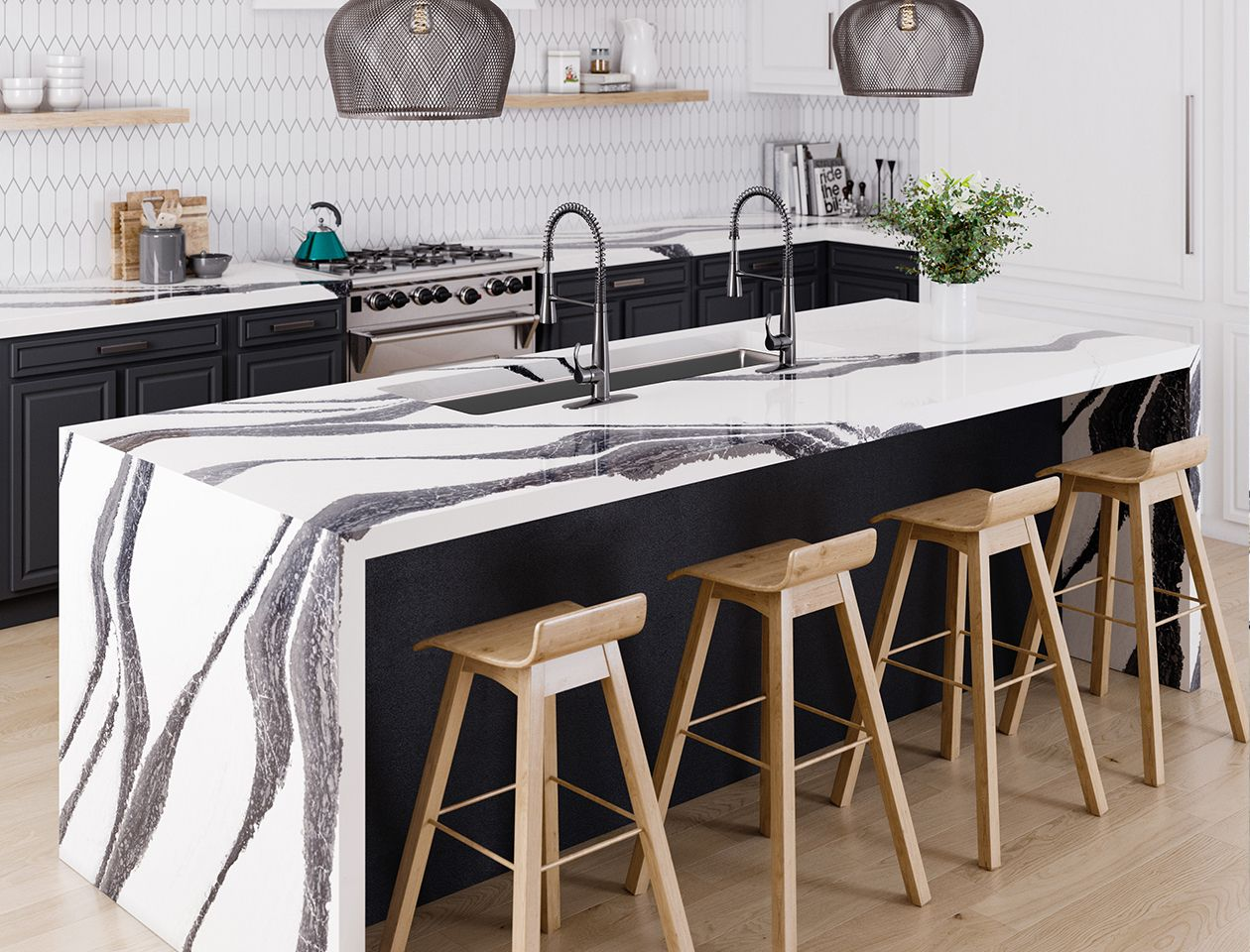 Bentley Quartz Cambria Countertop Inspiration Replacing Kitchen Countertops Kitchen Design
