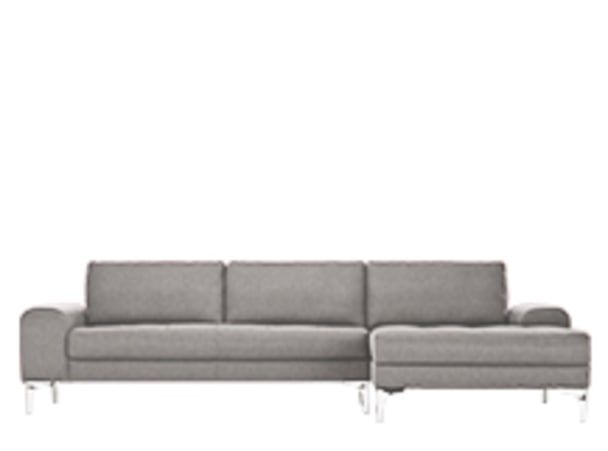 Vittorio Right Hand Facing Corner Sofa Group Pearl Grey