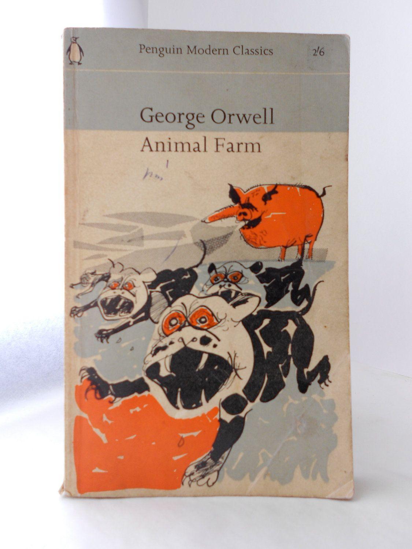 Animal Farm By George Orwell 1963 Penguin Modern Classic Vintage Orwell Portadas Libros