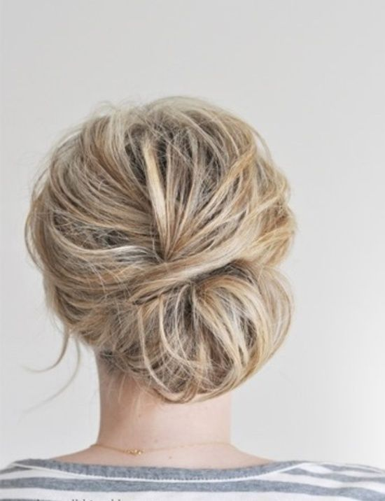 From Top Knots To Sock Buns Bun Hairstyles For Any Occasion Hair
