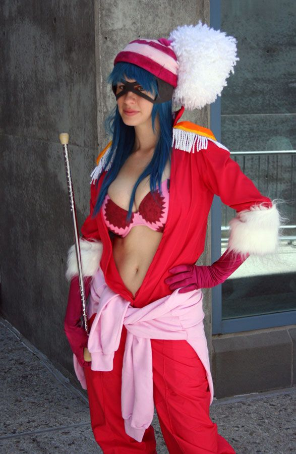 one piece porsche cosplay