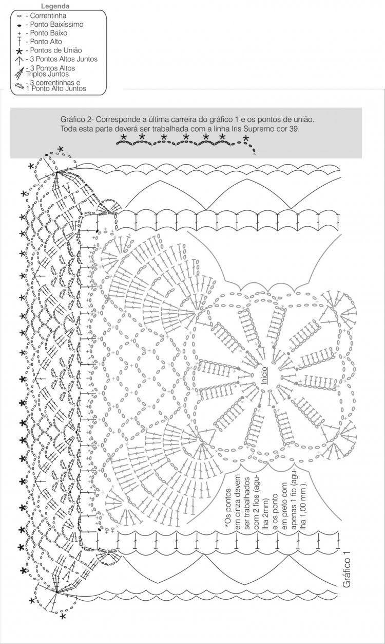 Tischdecke häkeln . crochet tablecloth | Crochet - TableDecore & for ...