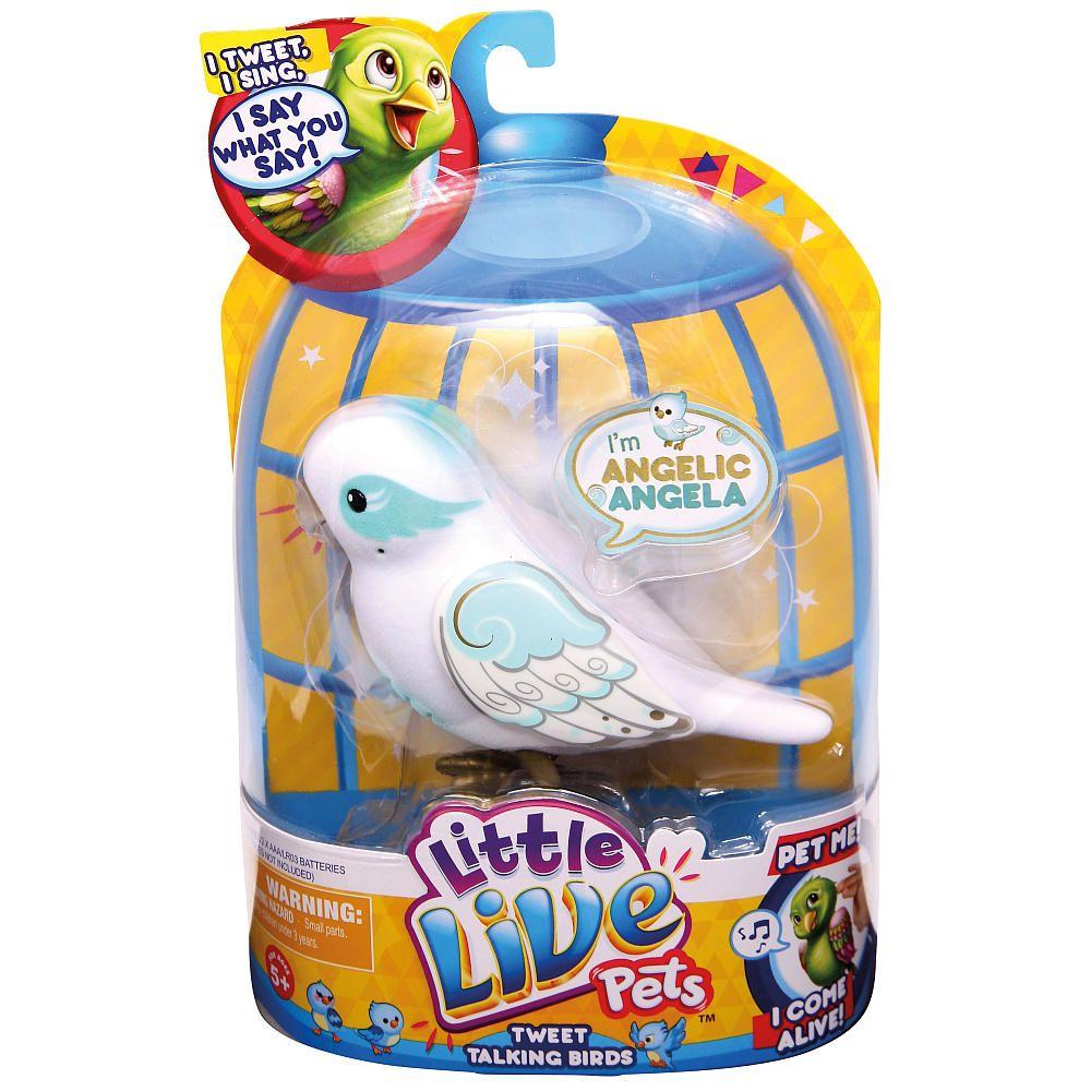 Little Live Pets Birds Single Refill Pack Angelic Angela Moose Toys Toys R Us Little Live Pets Pet Bird Pets