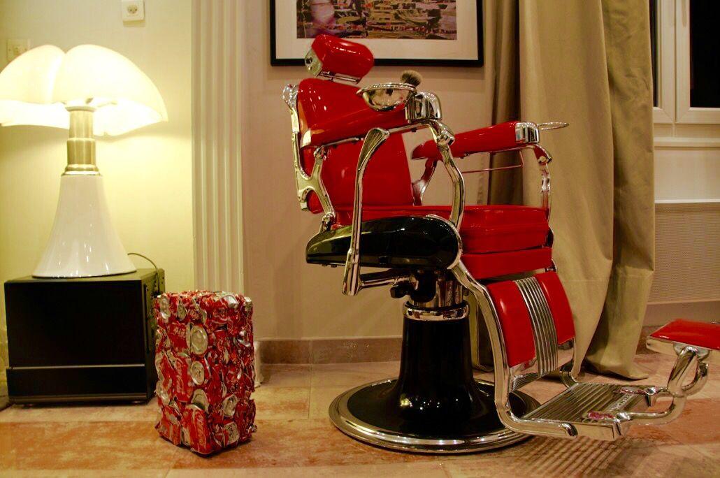 fauteuil barbier belmont vintage - Fauteuil Barbier Belmont