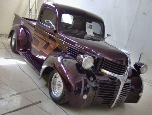 1940s Dodge Ram Pick Up Vintage Pickup Trucks Dodge Pickup Trucks