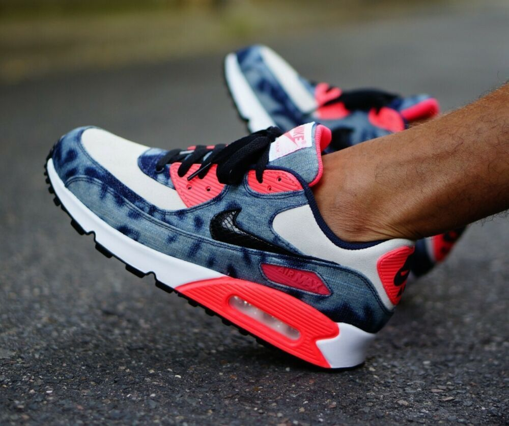 air max 90 dnm qs Infrared Washed Denim in 2019 | twinz