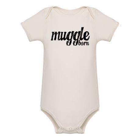 Muggle Born Organic Baby Bodysuit