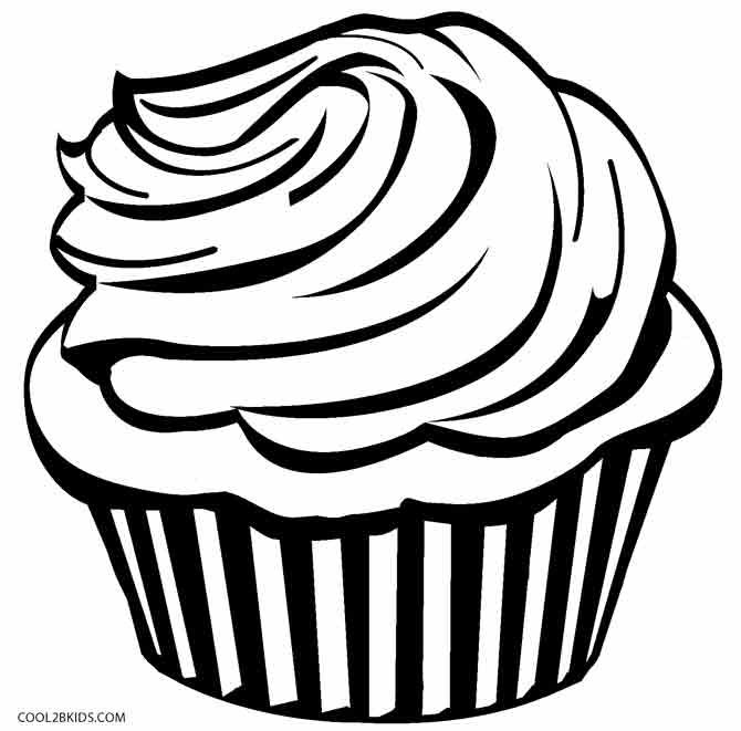Free Printable Cupcake Coloring Pages For Kids Cool2bkids In 2020 Cupcake Coloring Pages Kids Printable Coloring Pages Coloring Pages
