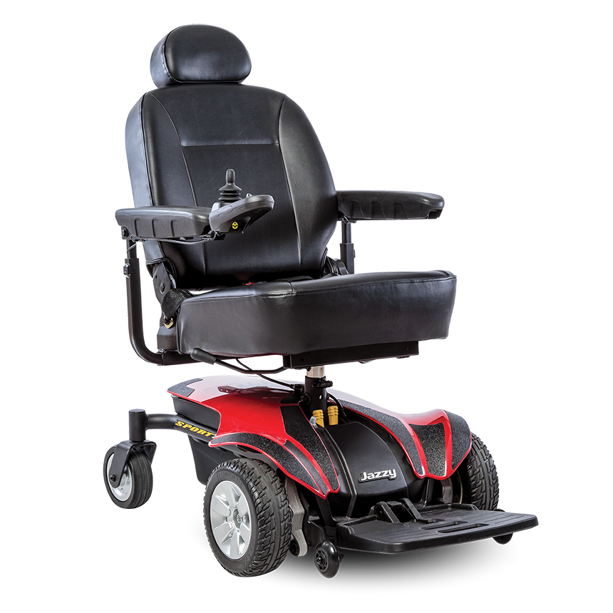 Pride Jazzy Sport 2 Pride Full Size Electric Wheelchair