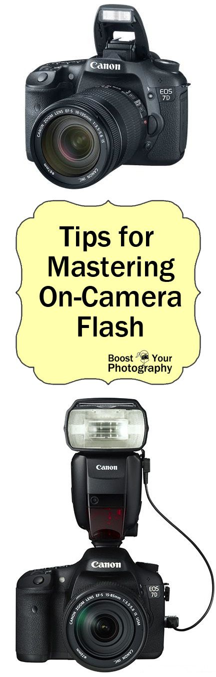 Tips for Mastering On-Camera Flash