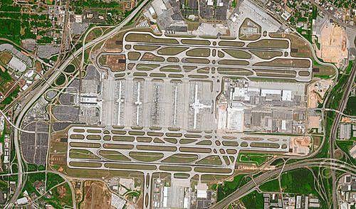 Human Footprint - Airport Atlanta