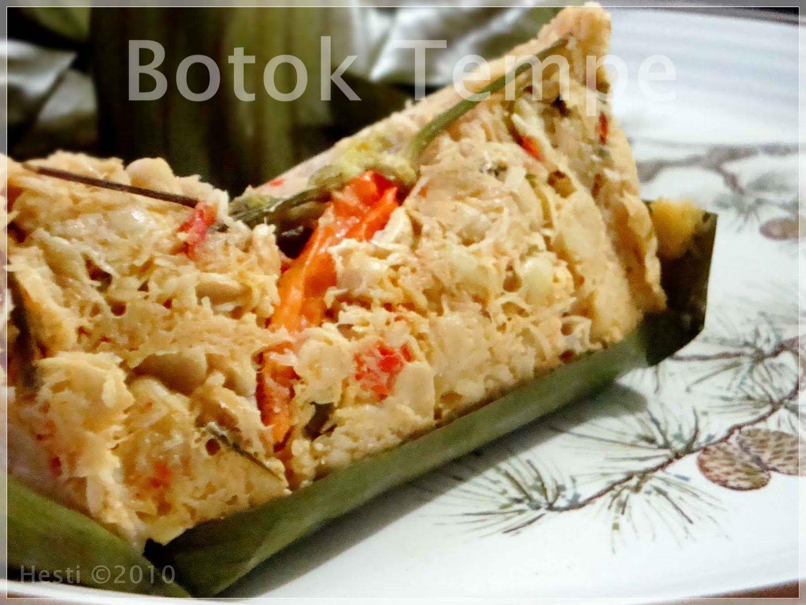 Hesti S Kitchen Yummy For Your Tummy Botok Tempe Resep Masakan Indonesia Makanan Dan Minuman Masakan