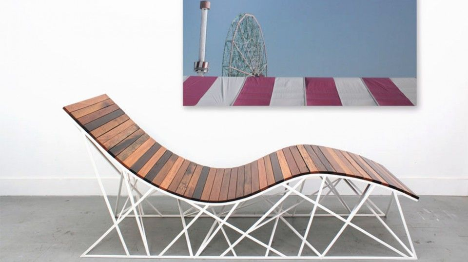 Red Hook S Uhuru Design Turns Coney Island Boardwalk Planks Into Rollercoaster Chair