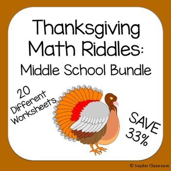 Need a way to make math practice more fun this Thanksgiving? Get all ...