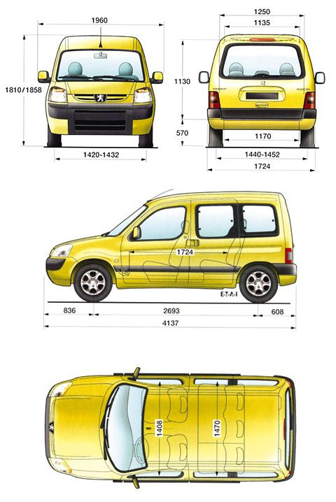 Epingle Par Leo Sur Mini Van Male Kamperki Kangoo Berlingo