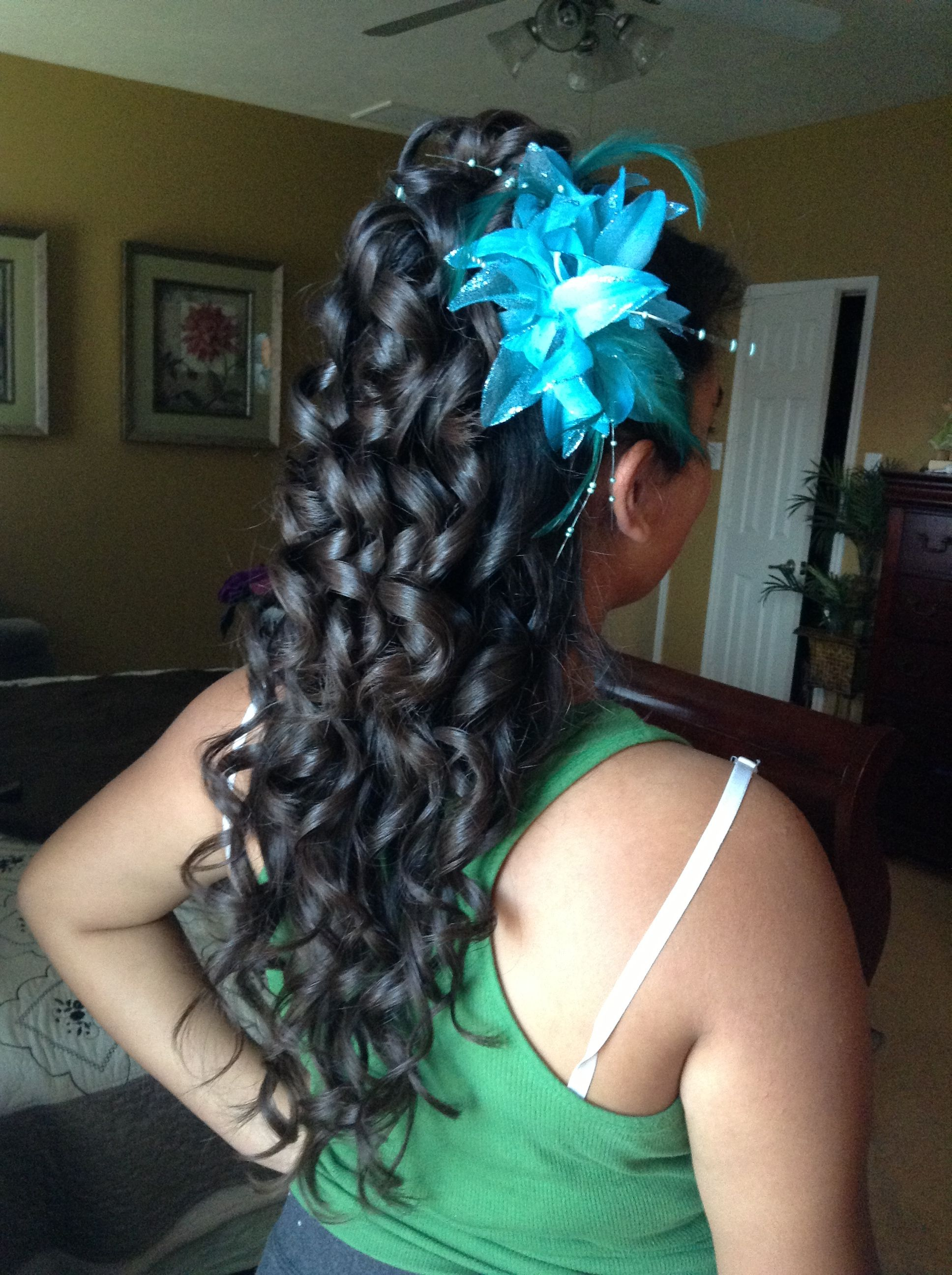 Quinceanera hairstyle quince hairstyles pinterest hair style