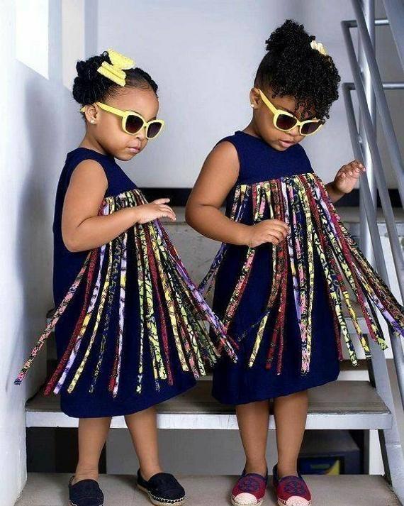 Afrikanische Mädchen kleiden Mädchen Afrikanische Mädchen kleiden Quaste #afrikanischekleidung