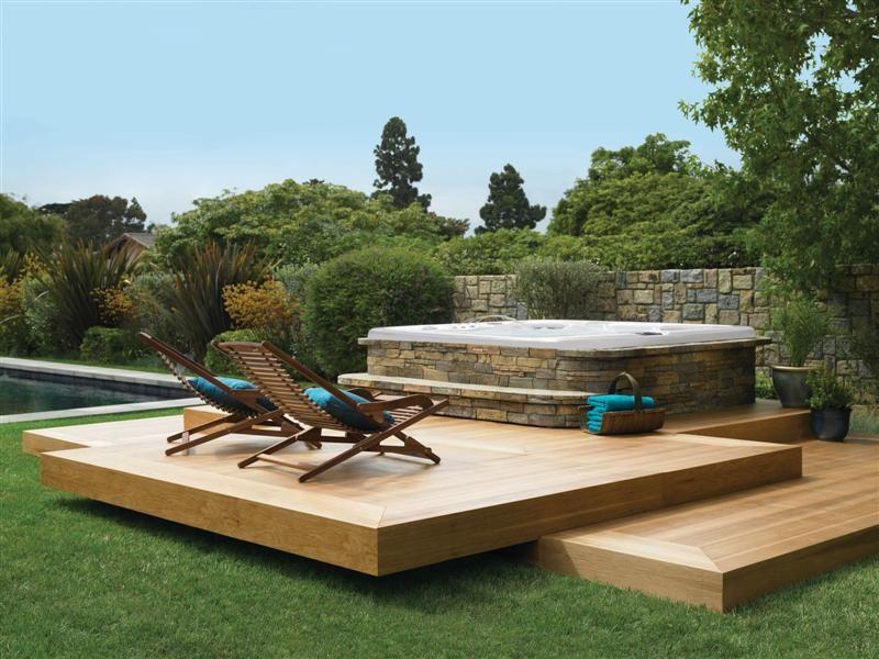 Petite Terrasse Avec Spa Vivahabitation Inspirationspa
