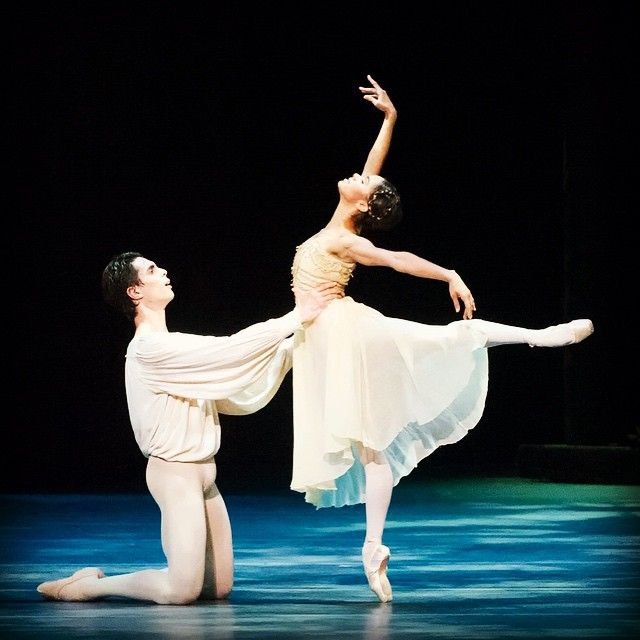 Misty Copeland dancing the role of Juliet (American Ballet Theater)