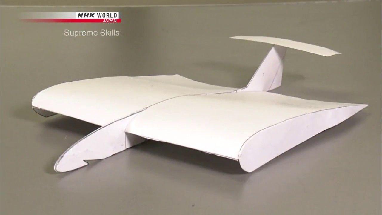 Supreme Skills! World Record for Paper Plane Flight Distance