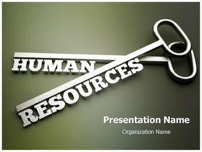 The Template Wizard Human Resources Human Resource Management Powerpoint