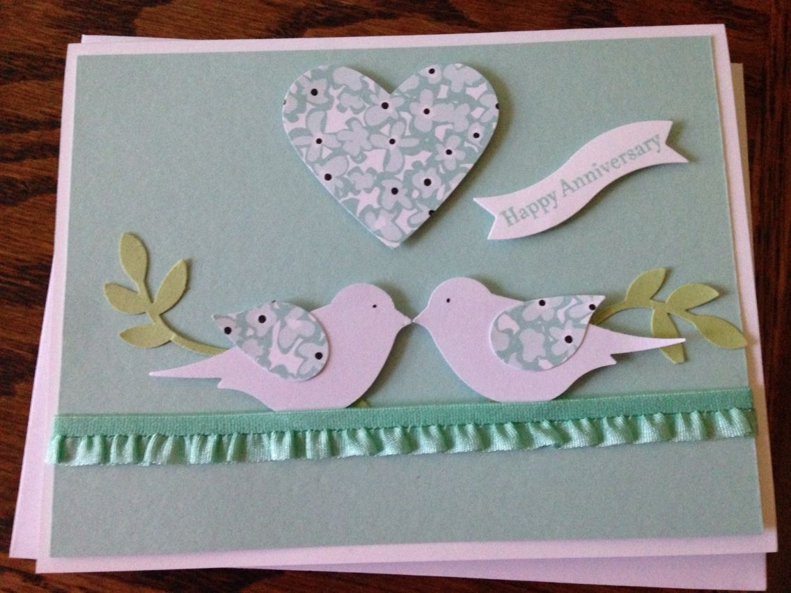 Handmade greeting cards ideas for anniversary u valentine s day info