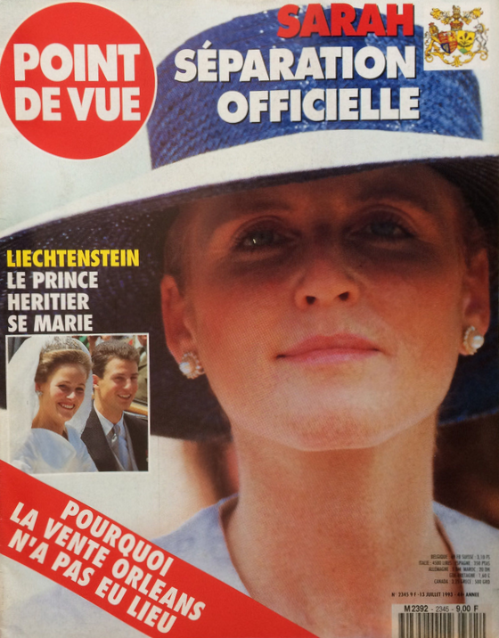 Point de vue n°2345 du 13/07/1993 Fergie