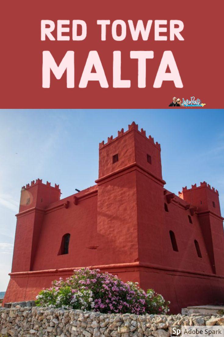 Red Tower St Agatha S Tower Malta In 2020 European Travel Tips Europe Travel Europe Travel Tips
