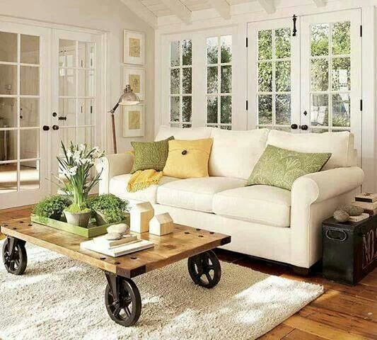 Nice Small Living Rooms: Cottage Style Living Room