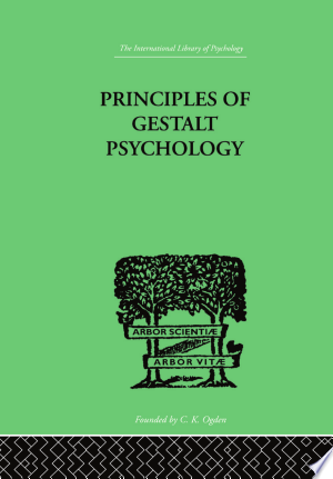 Principles Of Gestalt Psychology Pdf Download In 2020 Psychology Psychology Books Geek Books