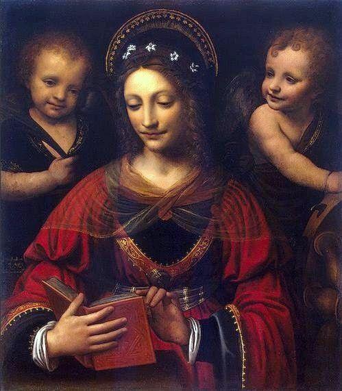 Bernardino Luini, St Catherine, 1527