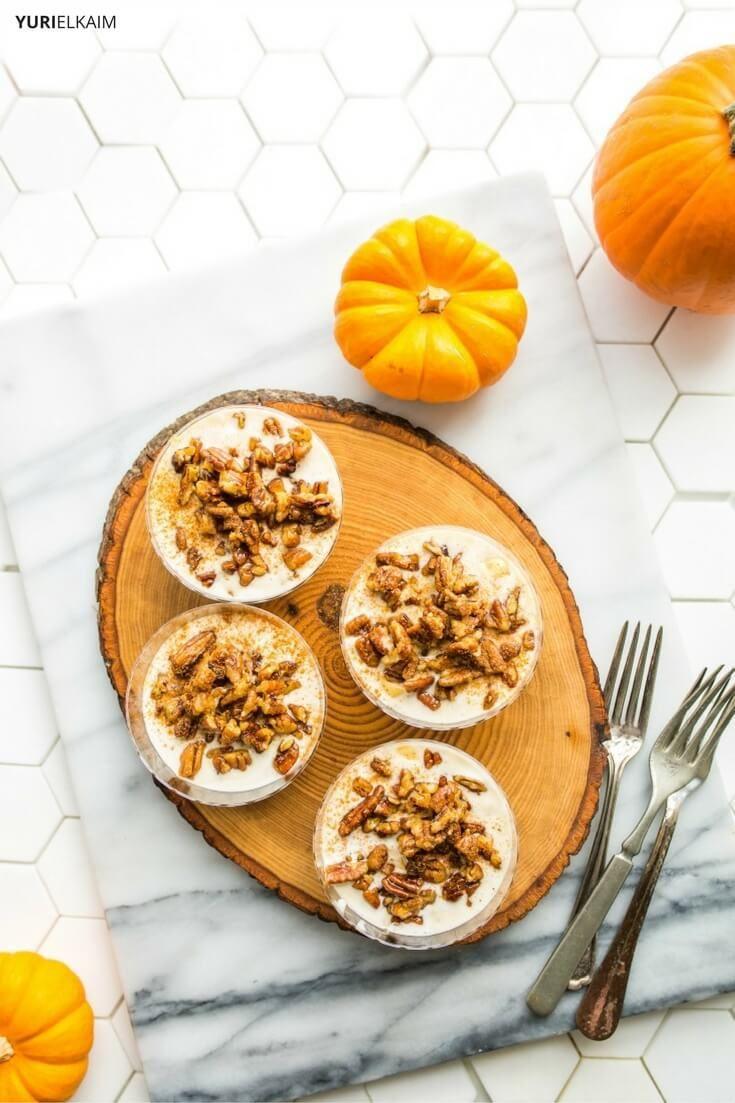 6 Ingredient Crustless Pumpkin Pie Vegan