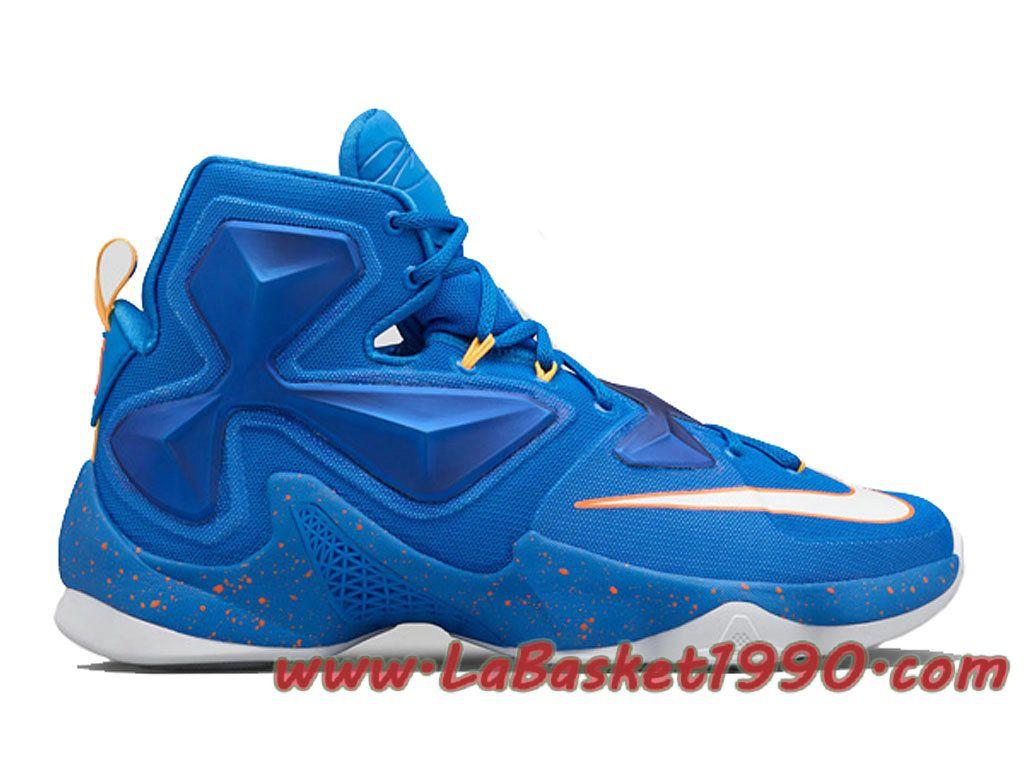 Nike LeBron 13 Balance 807219 418 Chaussures Nike Basket Pas
