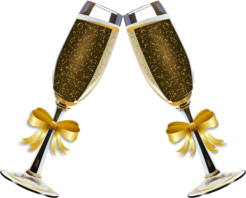 Clipart Champagne Glass Remix 4 Twitter Party Best Wedding