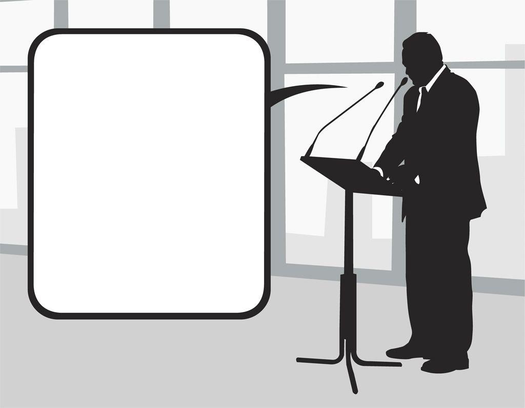 フリーイラスト素材] イラスト, 政治家, ビジネスマン / サラリーマン