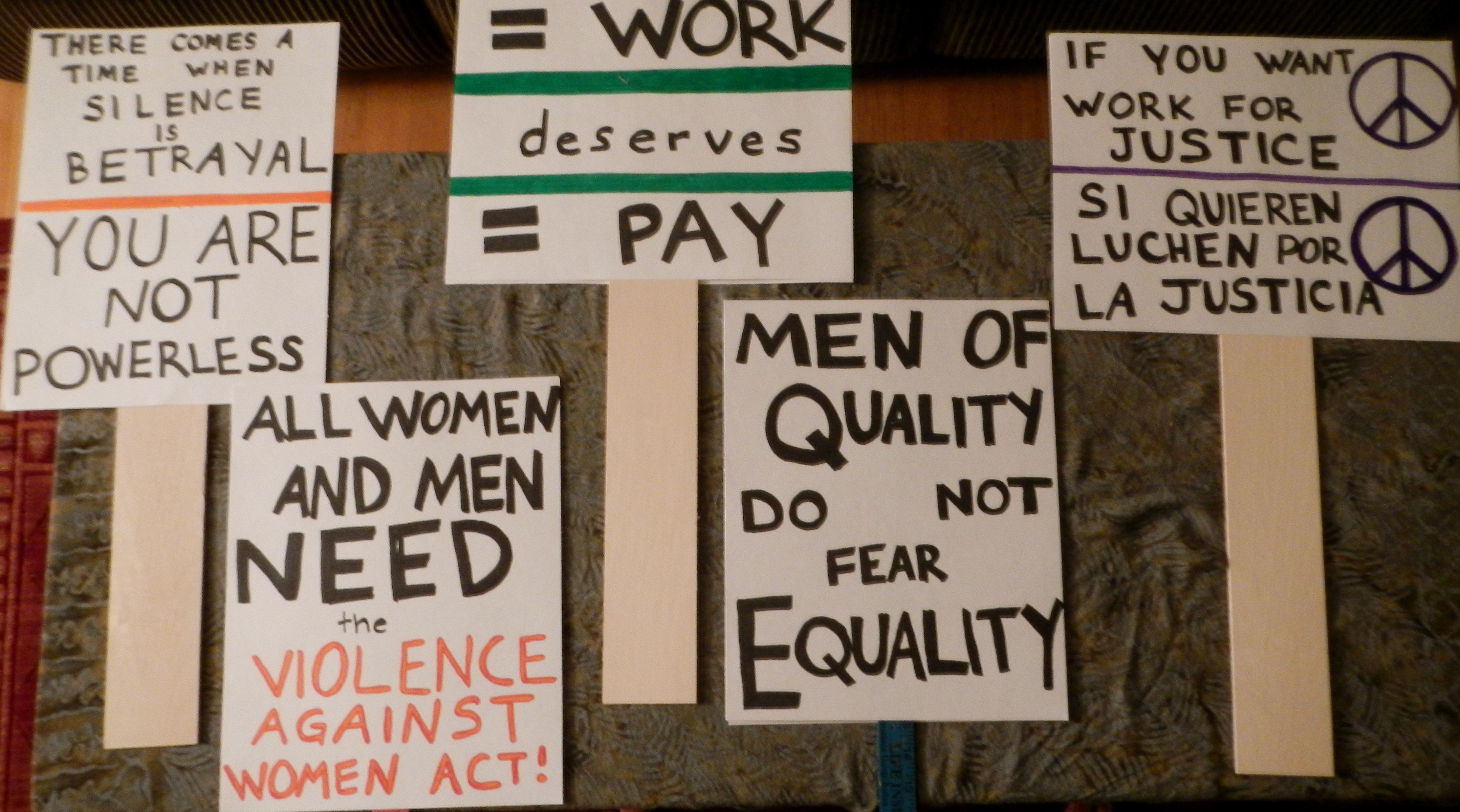 i made double sided signs for the women s rights rally in i made double sided signs for the women s rights rally in lexington ky on 8