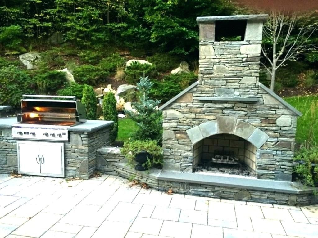 Patio Fireplace Kits Kit Patios A Small Outdoor Brick Fire Pit
